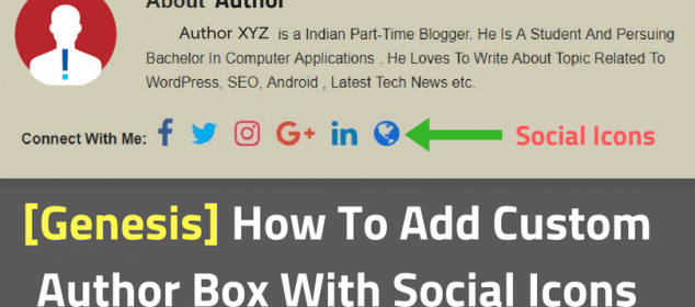 How-To-Add-Author-Box-With-Social-Icons-to genesis theme