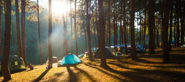 best camping sites in the world