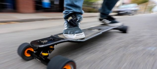 the history of electric skateboards